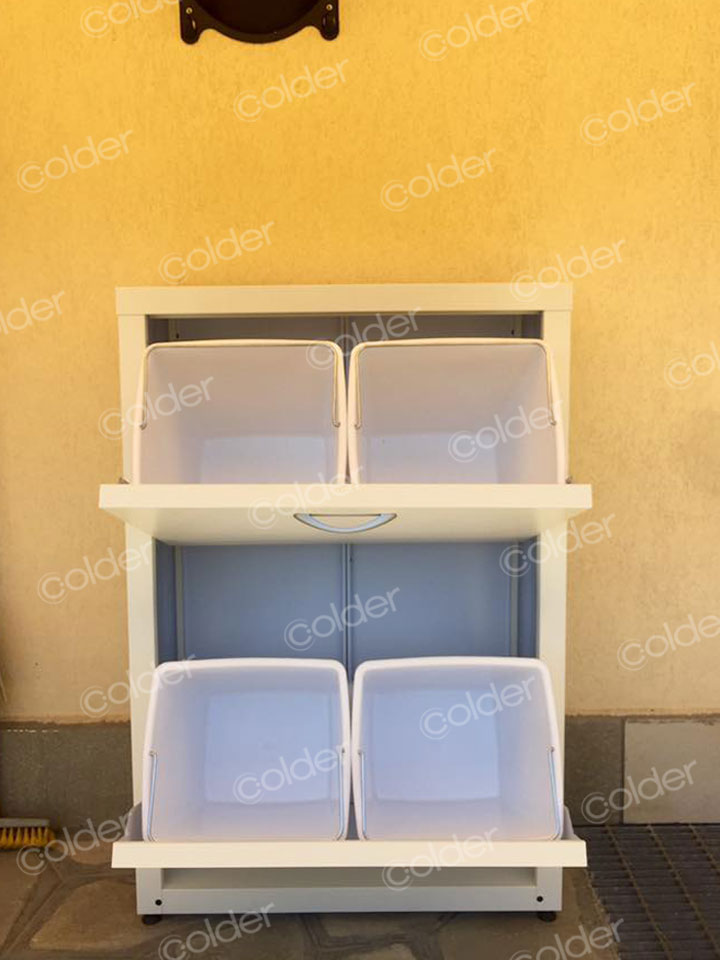 Armadi metallici raccolta differenziata da balcone torino - Mobili per balcone ...