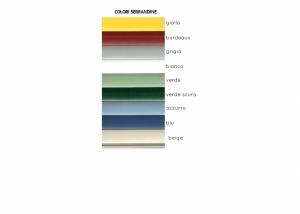Colori serrandina -